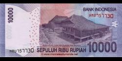Indonésie - p150f - 10.000Roupies - 2014 - Bank Indonesia
