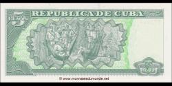 Cuba - p116m - 5Pesos - 2012 - Banco Central de Cuba