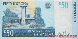 Malawi - p53e - 50 Kwacha - 31.06.2011 - Reserve Bank of Malawi