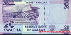 Malawi - p57a - 20 Kwacha - 2012 - Reserve Bank of Malawi