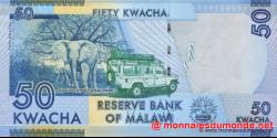 Malawi - p58a - 50 Kwacha - 01.01.2012 - Reserve Bank of Malawi