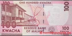 Malawi - p59a - 100 Kwacha - 01.01.2012 - Reserve Bank of Malawi