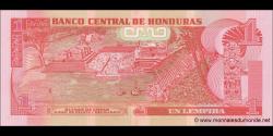 Honduras - p089c - 1 Lempira - 01.03.2012 - Banco Central de Honduras