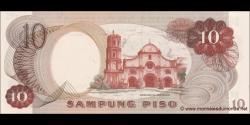 Philippines - p144a - 10Piso - ND (1969) - Bangko Sentral ng Pilipinas