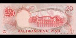 Philippines - p150 - 20Piso - ND (1970') - Bangko Sentral ng Pilipinas