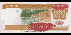 Laos - p36b - 20.000 Kip - 2003 - Bank of the Lao Peoples Democratic Republic