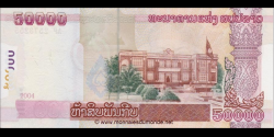 Laos - p37 - 50.000 Kip - 2004 - Bank of the Lao Peoples Democratic Republic