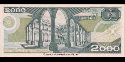 Mexique - p086b - 2.000 Pesos - 24.02.1987 - Banco de México