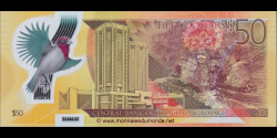 Trinidad et Tobago - p54 - 50 Dollars - 2014 - Central Bank of Trinidad and Tobago