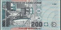 Cap - Vert - p68 - 200 Escudos - 20.01.2005 - Banco de Cabo Verde
