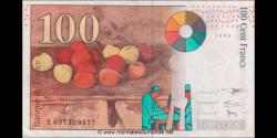 France - p158a - 100 Francs - 1998 - Banque de France