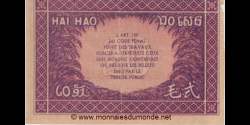 Indochine - p090 - 20 cents - ND (1942) - Gouvernement Général de l'Indochine