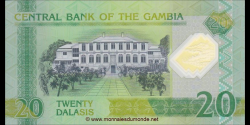 Gambie - p30 - 20 dalasis - 20.07.2014 - Central Bank of The Gambia