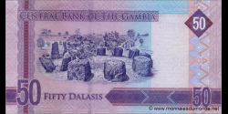 Gambie - p34 - 50 dalasis - 2015 - Central Bank of The Gambia
