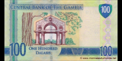 Gambie - p35 - 100 dalasis - 2015 - Central Bank of The Gambia