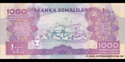 Somaliland - p20b - 1 000 SL Shilin - 2012 - Baanka Somaliland