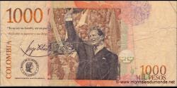 Colombie - p456p - 1.000 Pesos - 12.06.2011 - Banco de la República