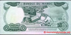 Maroc - p58b - 50 Dirhams - 1985 - Banque du Maroc