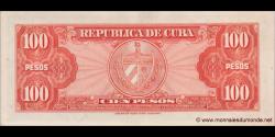 Cuba - p093 - 100Pesos - 1959 - Banco Nacional de Cuba
