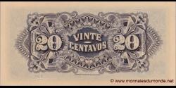 Mozambique - pR29 - 20 Centavos - 25.11.1933 - Companhía de Moçambique