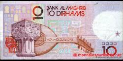 Maroc - p63b - 10 Dirhams - 1987 - Bank Al - Maghrib