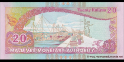 Maldives - p20c - 20 Rufiyaa - 2008 - Maldives Monetary Authority