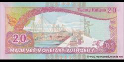 Maldives - p20c - 20Rufiyaa - 2008 - Maldives Monetary Authority
