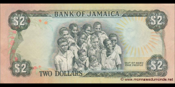 Jamaïque - p69b - 2 Dollars - 01.09.1987 - Bank of Jamaica