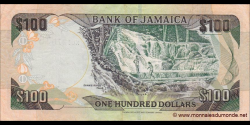 Jamaïque - p80d - 100 Dollars - 15.01.2004 - Bank of Jamaica