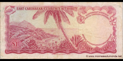 Etats Caraïbes Orientales - p13f1 - 5 Dollars - ND (1965) - East Caribbean Currency Authority