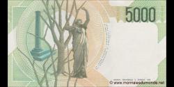 Italie - p111c - 5.000 Lire - 04.01.1985 - Banca d'Italia