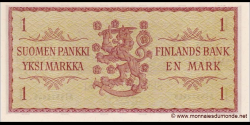 Finlande - p098a8 - 1 Markka / Mark - 1963 - Suomen Pankki / Finlands Bank