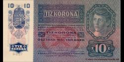 Autriche - p051a2 - 10 Kronen - 02.01.1915 (1919) - Oesterreichisch - ungarische Bank