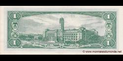 Taïwan - p1971a - 1Yuan - 1961 - Bank of Taïwan