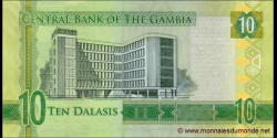Gambie - p32 - 10 dalasis - 2015 - Central Bank of The Gambia