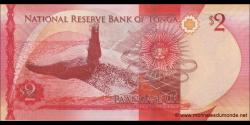 Tonga - p44 - 2 Pa'anga - ND (2015) - Pangike Pule Fakafonua 'o Tonga / National Reserve Bank of Tonga