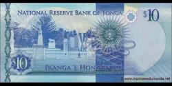 Tonga - p46 - 10Pa'anga - ND (2015) - Pangike Pule Fakafonua 'o Tonga / National Reserve Bank of Tonga