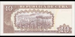 Cuba - p117p - 10 Pesos - 2014 - Banco Central de Cuba