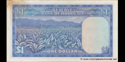 Rhodésie - p34c - 1 dollar - 18.04.1978 - Reserve Bank of Rhodesia