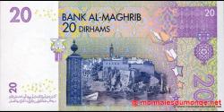 Maroc - p68 - 20 Dirhams - 2005 - Bank Al - Maghrib