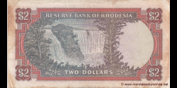 Rhodésie - p31e - 2 dollars - 12.11.1971 - Reserve Bank of Rhodesia