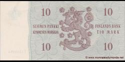 Finlande - p104a38 - 10Markka / Mark - 1963 - Suomen Pankki / Finlands Bank