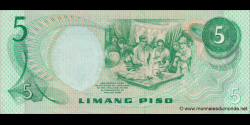 Philippines - p160b - 5Piso - ND (1978) - Bangko Sentral ng Pilipinas
