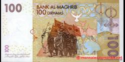 Maroc - p70 - 100 Dirhams - 2002 - Bank Al - Maghrib