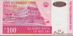 Malawi - p54c - 100 Kwacha - 30.06.2011 - Reserve Bank of Malawi