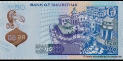 Maurice - p65 - 50 Roupies - 2013 - Bank of Mauritius