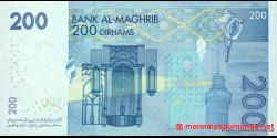 Maroc - p71 - 200 Dirhams - 2002 - Bank Al - Maghrib