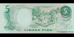 Philippines - p148 - 5 Piso - ND (1970') - Bangko Sentral ng Pilipinas