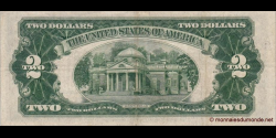 Etats Unis d'Amérique - p380a - 2 Dollars - 1953A - United States Treasury