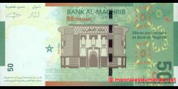 Maroc - p72 - 50 Dirhams - 2009 - Bank Al - Maghrib